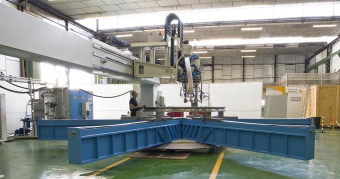 Fabricación de una instalación en GH