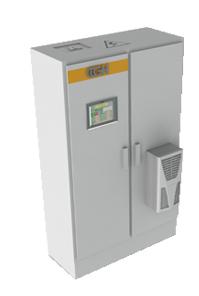 """Generador de inducción GH con pantalla táctil (""""TouchHMI"""")"""