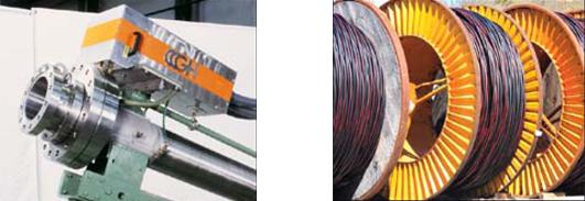 Post-calentamiento por inducción en la industria del cable